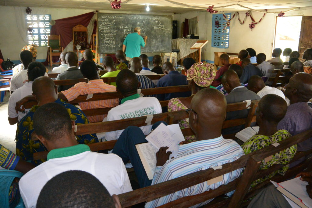 Workshop in Liberia