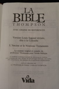 French Thompson Chain Reference Bible
