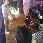 Brian Balster teaching in Kenya