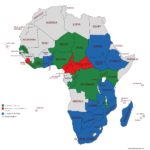Map of Africa-2019